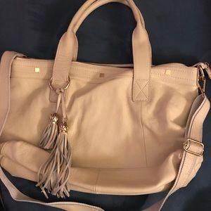 Handbags - Soft cream leather large tote